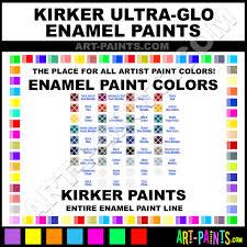 Kirker Ultra Glo Enamel Paint Colors Kirker Ultra Glo