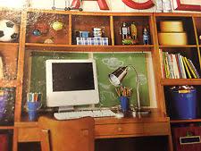 kids office desk. interesting office pottery barn kids cameron office desk system hutch honey corkboard cubby  cabinet intended desk b