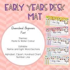 Editable Hundreds Chart Editable Desk Mats Qld In 2019 Desk Mat Hundreds Chart
