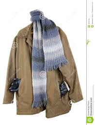 Old man s winter coat stock photo. Image of material - 26235750