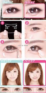 weibo provides an picture tutorial demonstrating how to achieve aegyo sal the korean trend for increasing the amount of puff beneath the eye