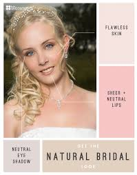 natural wedding look natural bridal makeup