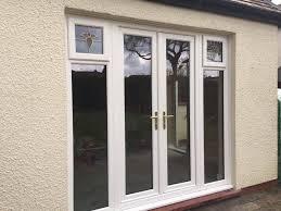 Laminated Glass Panels Replace Storm Door - HOUSE DESIGN