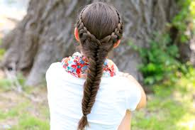 Lace Hair Style how to create a laced fishtail braid cute girls hairstyles 3733 by wearticles.com