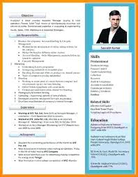 Tabular Cv Template New Cv Template Free Simple Resume Templates Word Format Cv