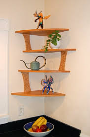 Bright And Modern Hanging Corner Shelves Beautiful Ideas Shelf Smart  Solutions Accent Homes