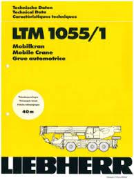 Liebherr Ltm 1055 1 Specifications Cranemarket