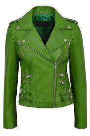 brown leather jacket las