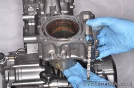 2003 2009 suzuki sv650 online service manual cyclepedia suzuki sv650 cylinder and piston removal