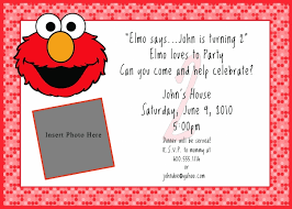 Free Invitation Template Downloads Delectable Download Free Printable Elmo Birthday Invitations Template Top