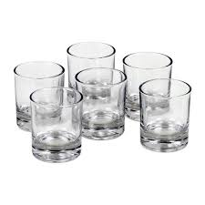 details about findsomethingdiffe set of 6 glass holders for votive candles