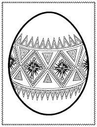 Easter Eggs To Coloring Pages Egg Coloring Pages Free Printable Eggs