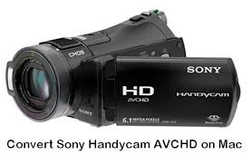 sony handycam. \u201ci have a sony handycam dcr-sx45e camcorder, and i now 2 hours of random video that want to import imovie on mac. for this tried trick
