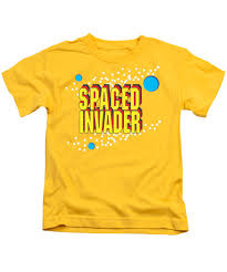70s T Shirt Design Retro Design Hippy Design 60s And 70s Spaced Invader Kids T Shirt