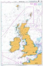 British Admiralty Nautical Chart 2 British Isles