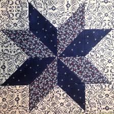 Reader Tutorial} Easy LeMoyne Star Quilt Block - And Sew We Craft & image Adamdwight.com