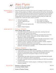 Most physical therapists have a master's degree. Physical Therapist Resume Examples Jobhero