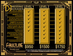 Faultline Music Service Wedding Subpage