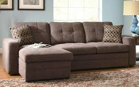 chic triangle brown ancient wooden rug sofa sleeper sectionals small spaces as small sectional sleeper sofa