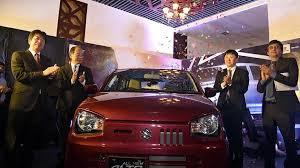 masafumi harano managing director stan suzuki motors co ltd aamir shafi executive marketing officer stan suzuki motors co ltd