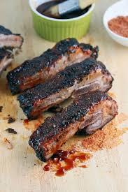 memphis style barbecue pork ribs succulent made at home recipe a pomegranate vinegar