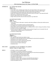 Software Tester Resume Sample QA Software Tester Resume Samples Velvet Jobs 9