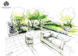 landscape architecture blueprints. Modren Blueprints Landscape Design Sketches Landscaping Drawing Architecture  Designs Drawings Formal Gardens Modern Throughout Landscape Architecture Blueprints