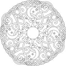 Coloring Pages Pleasing Printable Mandala Coloring
