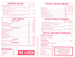 Soup Kitchen Menu Chicken Kitchen Menu Page 2