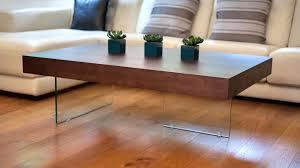 black wood coffee table s set