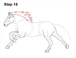 running horse drawing. Fine Drawing Draw Running Horse 15 In Drawing O