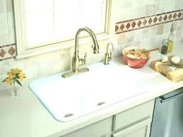 porcelain sink with drainboard kitchen white sinks cleaning old fix scratches drainb