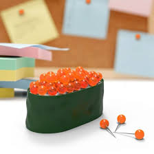 cool stuff for your office. Sushi Roll Shaped Push Pins Cool Stuff For Your Office