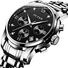 Buy OLVES <b>Men's Fashion Waterproof Quartz</b> Watch with Date ...