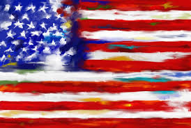 saatchi art artist corporate art task force painting american flag 544 1