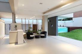 Open Plan Living Kitchen Dining Space Contemporary Villa In Contemporary Open Plan Kitchen Living Room