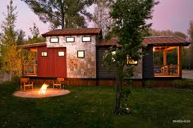Small Picture Caboose Park Model Trailer Wheelhaus Luxury Rolling Cabins