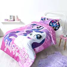 my little pony full size bedding new my little pony discover quilt cover set by spotlight