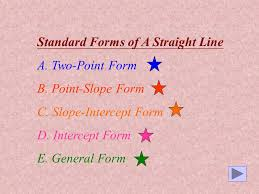 since slope of pa equals to the slope of the straight line then m