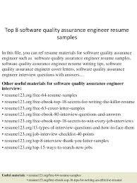 Quality Assurance Engineer Resume Pdf Spacesheep Co