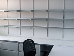 office shelf. Wall Shelving Portfolio For Offices Rakks With Regard To Office Shelf Designs 2 I
