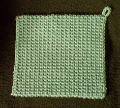 Double Thick Crochet Potholder Pattern Custom The Best Crocheted Potholder Crocheted Kitchen My Patterns