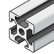 <b>Aluminum</b> Frame 8 Series/slot width 10/40x40mm, Parallel Surfacing