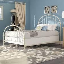 Wrought Iron Beds You'll Love | Wayfair