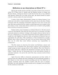 Classroom Observation Essay Tiercrewpulse Masterlist
