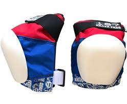 187 Killer Pads Pro Knee Pads Red White Blue
