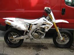 03 reg crf450 supermoto for sale