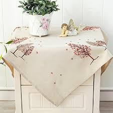 embroidered small tablecloth bedside
