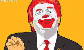 Image result for trump mcdonalds