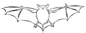 Bat Colouring In Bat Coloring Pages Bats And Moon Coloring Page Bat